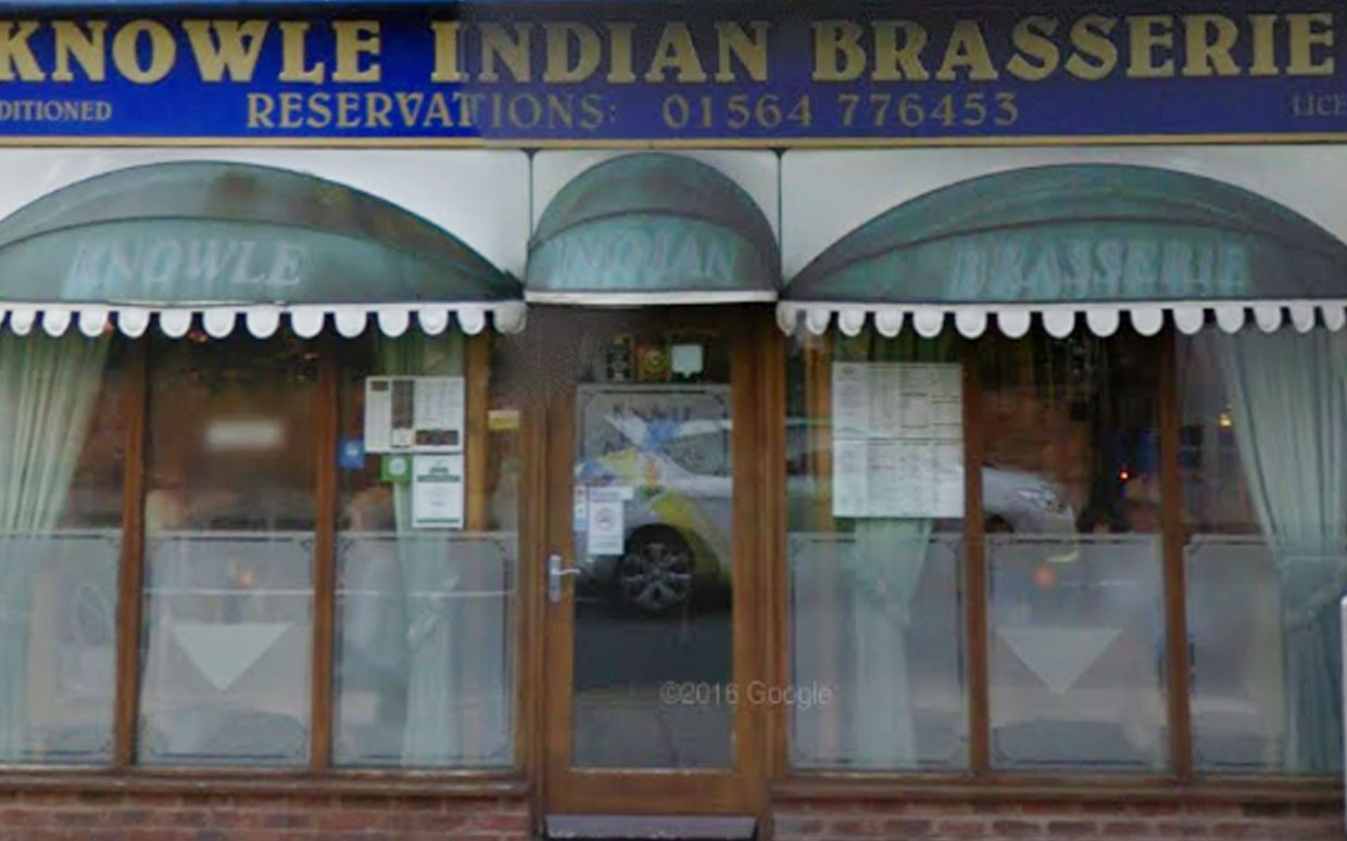 KNOWLE INDIAN BRASSERIE